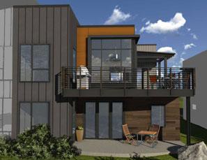 2-Story Emerson condominium