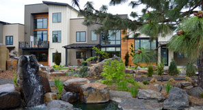 Walking paths are secure within our Spokane gated community.